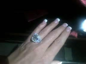 10 carat engagement ring zolciak 39 s engagement ring