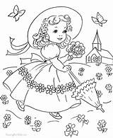 Coloring Pages Fashioned Printable Print Getcolorings sketch template