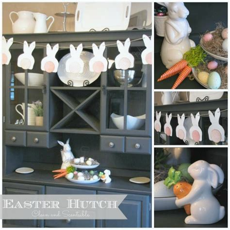 Eastern Kitchen Buffet by Easter Decorating Ideas This Buffet And Hutch