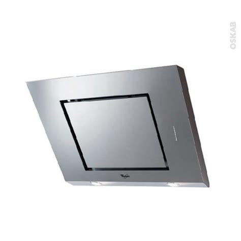 hotte de cuisine 80 cm hotte de cuisine aspirante inclinée 80 cm inox whirlpool akr808ix oskab
