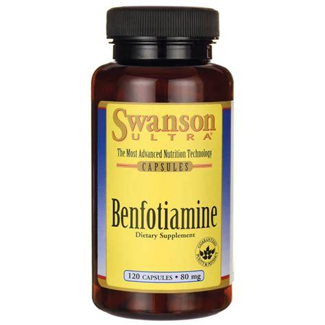 benfotiamine swanson health products europe