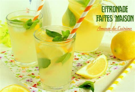 de cuisine ramadan citronnade ou limonade au citron faite maison amour de