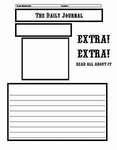 newspaper template excercise current events and classroom With newspaper editorial template