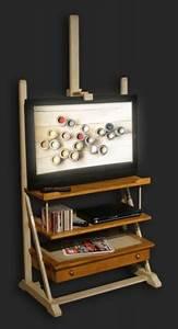 Chevalet De Chambre : meuble tv chevalet ~ Teatrodelosmanantiales.com Idées de Décoration