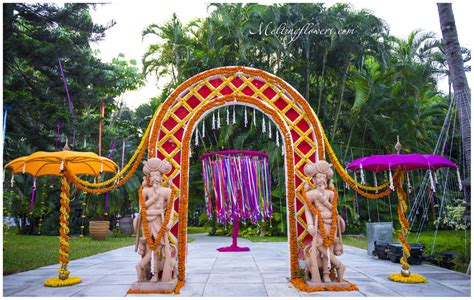 Garden Decoration India by 5 Outdoor Wedding Decoration Ideas With Flowers You Did