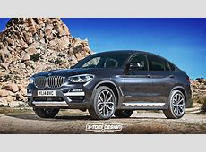 AllNew BMW X4 Gets Rendered Based On 2018 X3 Carscoops