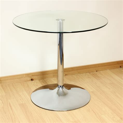 hartleys cm clearchrome  glass diningkitchen