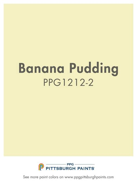 pittsburgh paint colors banana pudding paint color is part of the yellows color