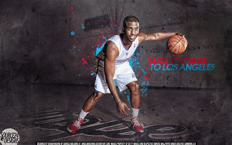 chris paul clippers wallpaper by ishaanmishra on deviantart