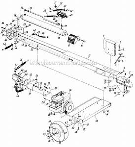 Mtd 850-0118 Parts List And Diagram