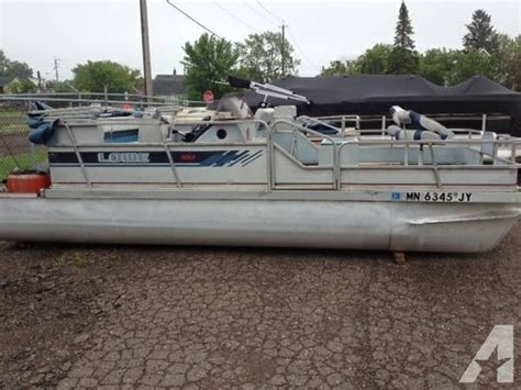 Pontoon Boats For Sale Appleton Wi by 1989 Lowe 189 Fish Cruise Pontoon For Sale In Superior