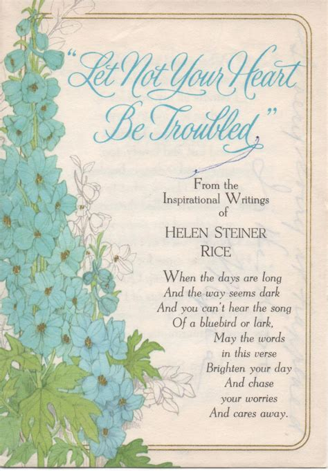 printable christmasreligious scenes to add your own poems to and print 2 used greeting cards with helen steiner rice inspirational
