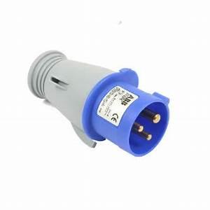 16 Ampere Kabel : cee stecker 3 polig 16 ampere 230 v steckdosen und trennschalter installation kabel ~ Frokenaadalensverden.com Haus und Dekorationen