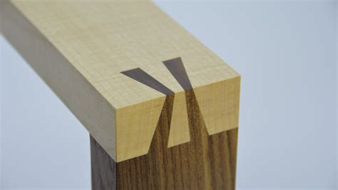 How To Make A Japanese Dovetail Joint. By Theo Cook. Tutor