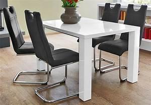 Esstisch Ausziehbar Auf 300 Cm : tisch elke esstisch wei hochglanz 120x90 cm ausziehbar auf 160 cm eur 219 00 picclick de ~ Markanthonyermac.com Haus und Dekorationen
