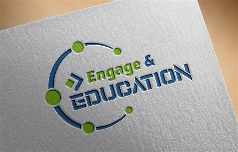 engage  education logo  psd template graphicsfamily