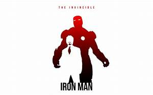 Iron Man Silhouette Wallpaper