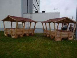 Gartenmöbel Mit Dach : gartenm bel aus l rche mit dach in steyerberg urlaub auf ~ Articles-book.com Haus und Dekorationen