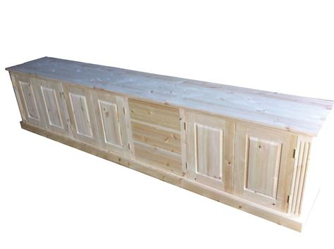 Low Sideboards by Wye Pine Low Sideboard With Drawers