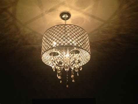 Drum Pendant Lighting With Crystals ALL ABOUT HOUSE DESIGN