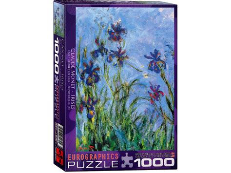 cadre puzzle 1000 pieces eurographics puzzle irises 1000 by claude monet