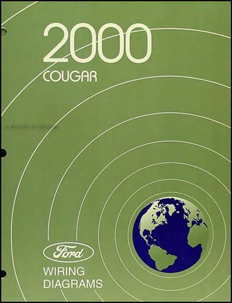 Mercury Cougar Wiring Diagram Manual Original