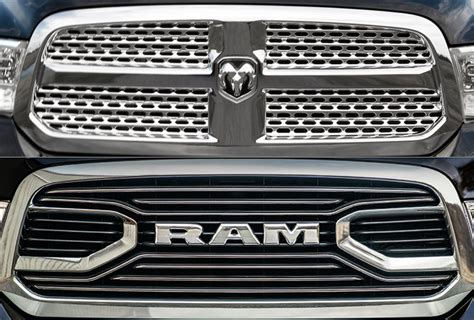New Ram Grill by Grille In The Crosshairs Ram Ditches Dodge Schnoz The