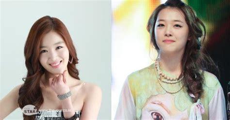 wajah bintang korea  kembar akibat operasi plastik