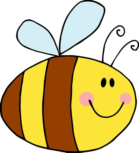bee clipart png bee clipart clear background pencil and in color bee