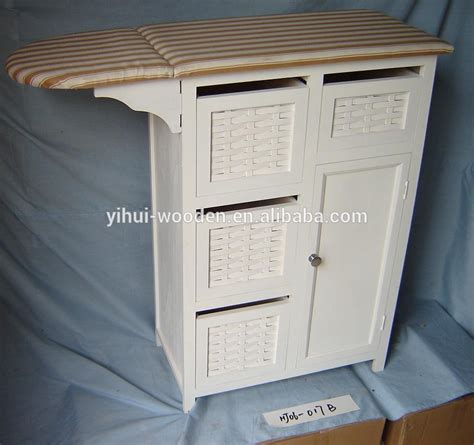 ironing board cabinet with storage mutil tiroirs armoire de rangement en bois planche 224