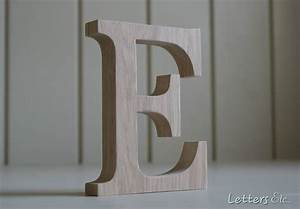 oak wooden letter by letters etc notonthehighstreetcom With photos on wooden letters
