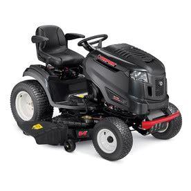 shop troy bilt xp bronco fab xp 25 hp v hydrostatic 54 in lawn mower at lowes