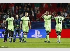 Sevilla 13 Manchester City UEFA Champions League RESULT