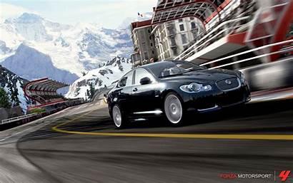 Forza Motorsport Juego Pantalla Fondo Nevada Vista