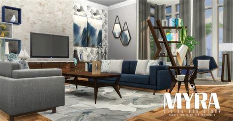 myra living  simsational designs sims  updates