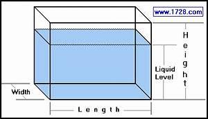 Calcul Volume Litre : rectangular tank calculator ~ Melissatoandfro.com Idées de Décoration