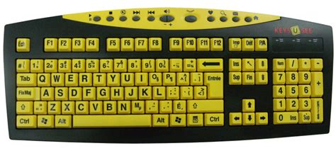Keys-u-see Large Print Usb Keyboard By Genesis Worldwide
