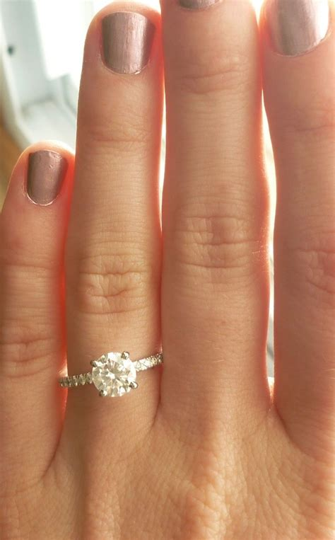 engagement rings solitaire pave search j