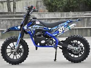 Image De Moto : moto cross pocket 50cc 2 temps 10 10 bleu ~ Medecine-chirurgie-esthetiques.com Avis de Voitures
