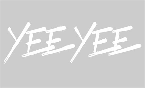 "Yee Yee windshield decal (36"") - Granger Smith Store"