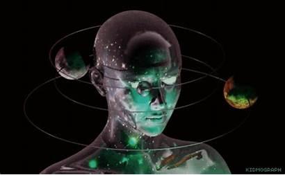Kidmograph Animated Satellite Uranus Space Gifs Orb