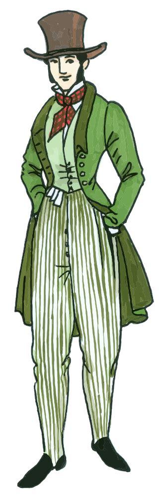 onlinelabels clip art vintage mens fashion