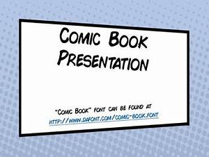 comic book template powerpoint - comic book powerpoint presentation template by douglas