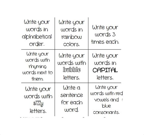 tic tac toe templates     sample