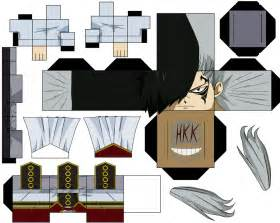 Future Rogue Anime Paper Toy