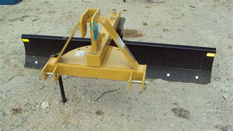 dirt blade dirt 3pt 7 dirt 5007 hd angle grader blade magnolia tx 119505801 equipmenttrader
