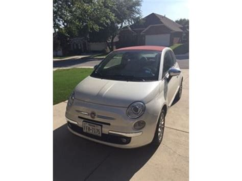 Fiat San Antonio by 2012 Fiat 500c For Sale By Owner In San Antonio Tx 78299