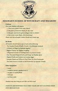hogwarts supply list related keywords suggestions With harry potter acceptance letter supply list
