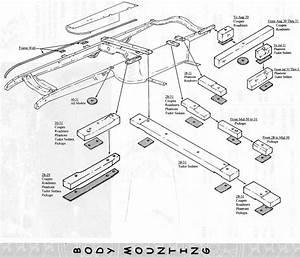 Model A Wood Mounting Blocks