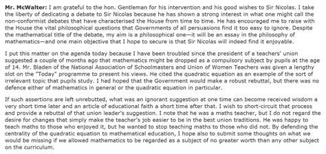No 2983 In Defense Of Quadratic Equations